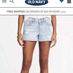 Women's Old Navy boyfriend shorts